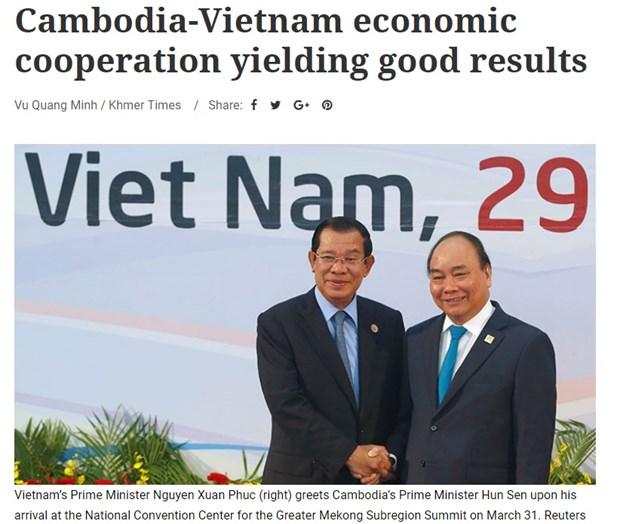 Cooperacion economica entre Vietnam y Camboya marcha a buen ritmo, sostiene embajador vietnamita hinh anh 1