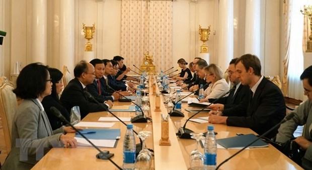 Vietnam y Rusia celebran el decimo dialogo estrategico hinh anh 1