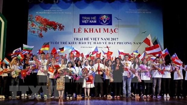 Comenzara hoy Campamento de verano para jovenes vietnamitas residentes en ultramar hinh anh 1