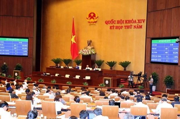 Comite Permanente del Parlamento se reune en Hanoi hinh anh 1