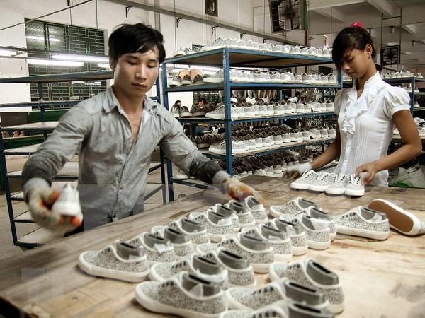 Participan unos 30 paises en Exposicion Internacional de calzado y cuerdo en Vietnam hinh anh 1
