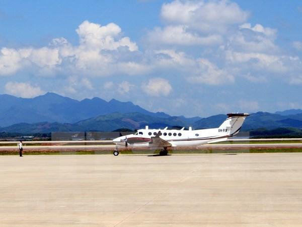 Recibe su primer vuelo aeropuerto internacional de Van Don, en Vietnam hinh anh 1