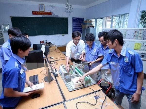 Alemania ayuda a Vietnam en formacion profesional relacionada con ecologia hinh anh 1