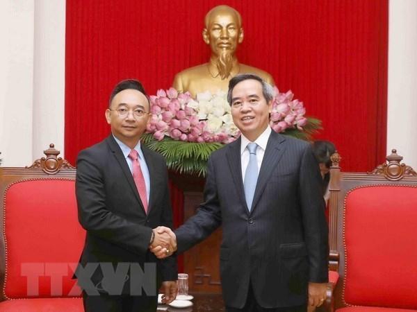 Vietnam desea ganar experiencia de corporacion Dell EMC en cuarta revolucion industrial hinh anh 1