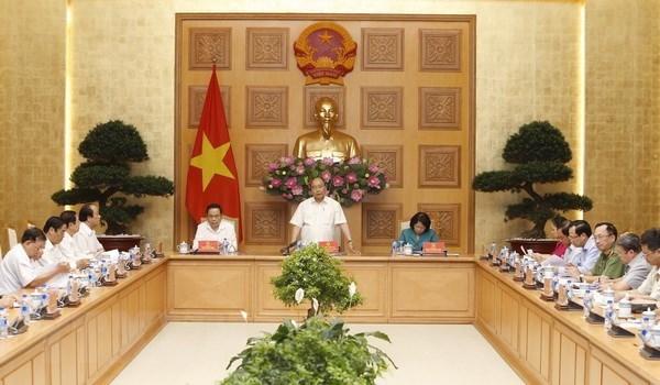 Premier vietnamita llama a impulsar la campana nacional de emulacion patriotica hinh anh 1