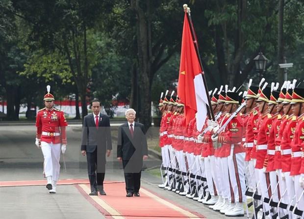 Asociacion estrategica Vietnam e Indonesia avanza en diversos sectores hinh anh 1