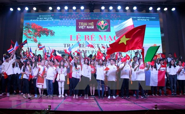 Campamento de verano conecta a vietnamitas residentes en el extranjero con su tierra natal hinh anh 1
