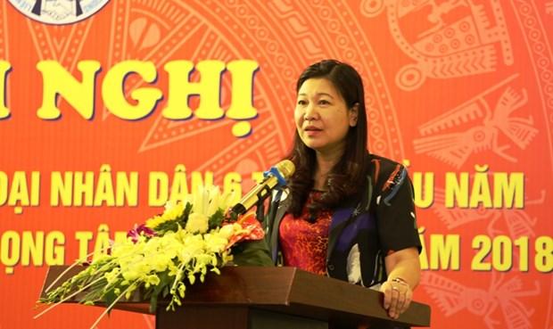 Asociaciones de Amistad de Hanoi fomentan la paz y la solidaridad hinh anh 1