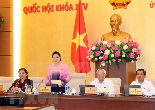 Comite Permanente del Parlamento de Vietnam concluye XXV reunion hinh anh 1