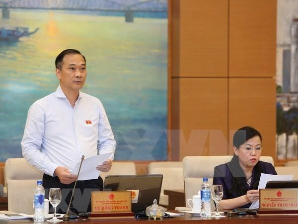 Comite Permanente del Parlamento continua segunda jornada de trabajo hinh anh 1