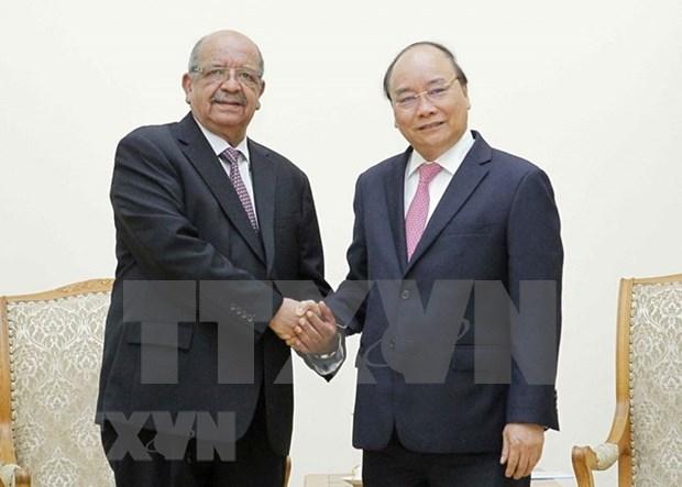 Vietnam aspira a elevar intercambio comercial con Argelia a mil millones de dolares hinh anh 1