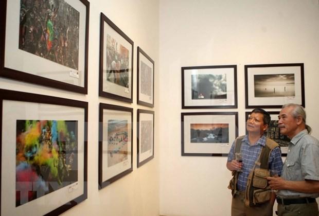 Celebran exposicion fotografica sobre contribuciones de Fundacion japonesa en Vietnam hinh anh 1