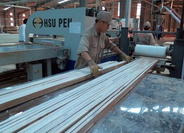 Sector maderero de Vietnam activo ante guerra comercial China- EE.UU. hinh anh 1