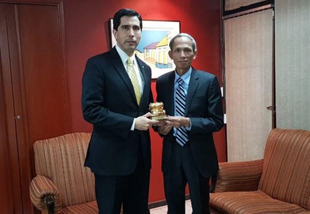 Vietnam y Paraguay fomentan relaciones bilaterales hinh anh 1