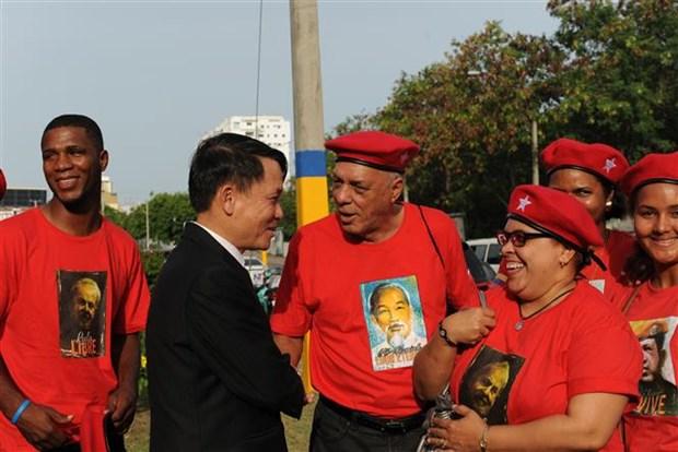 Honran al Presidente Ho Chi Minh en Republica Dominicana hinh anh 1