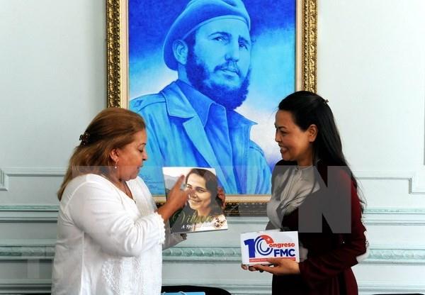 Organizaciones femeninas de Vietnam y Cuba consolidan relaciones de amistad hinh anh 1
