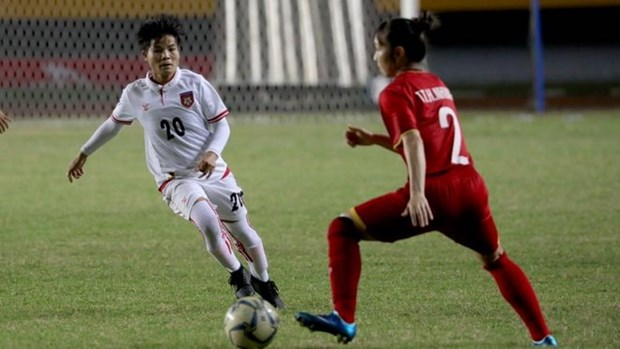 Vietnam gana medalla de bronce en campeonato regional de futbol femenino hinh anh 1
