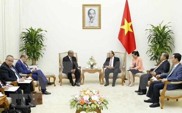 Prensa de Argelia destaca visita a Vietnam de su canciller hinh anh 1