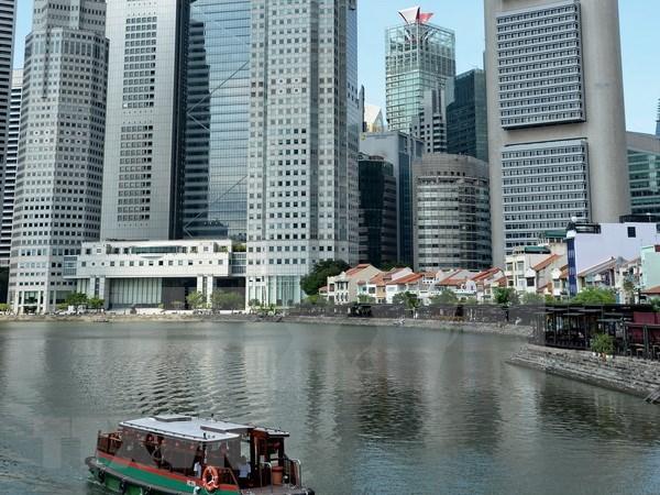 Economia de Singapur crece a ritmo lento en el segundo trimestre hinh anh 1