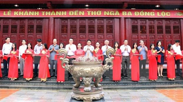 Inauguran templo dedicado a martires en provincia vietnamita hinh anh 1