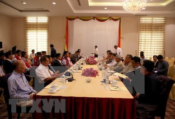 Avances en Conferencia de Paz de Panglong en Myanmar hinh anh 1