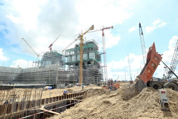 Presentan en Vietnam modernas tecnologias verdes para construccion de piso de hormigon hinh anh 1