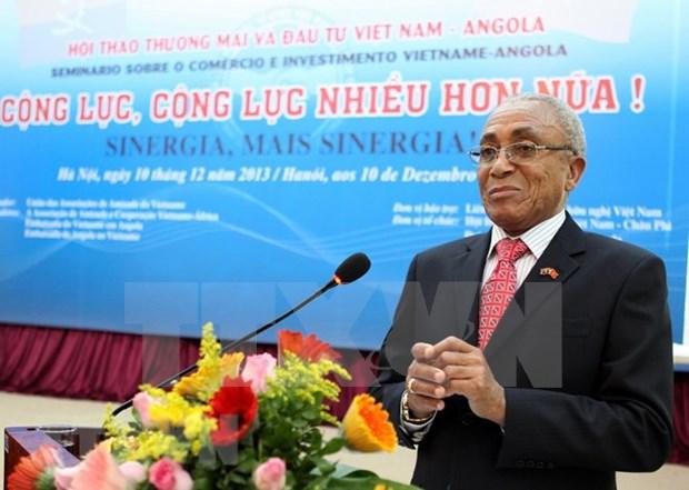 Celebran en Hanoi conferencia para promover comercio entre Vietnam y Angola hinh anh 1
