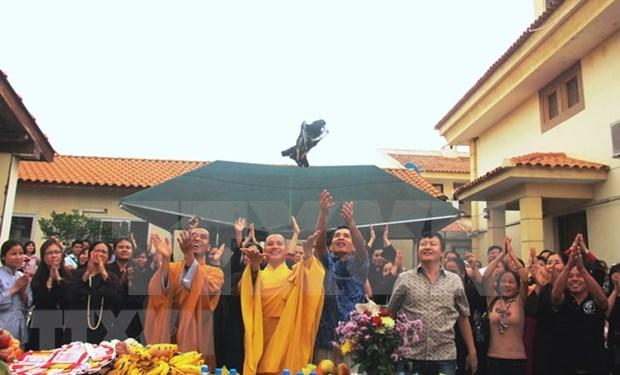 Vietnamitas en Angola celebran naciomiento de Buda hinh anh 1