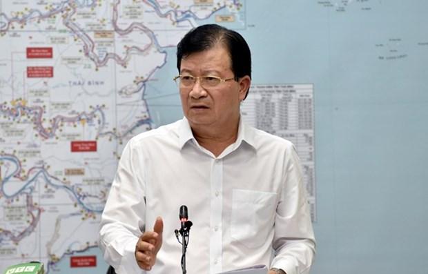 Vicepremier vietnamita insta a adoptar medidas integrales en respuesta a desastres naturales hinh anh 1