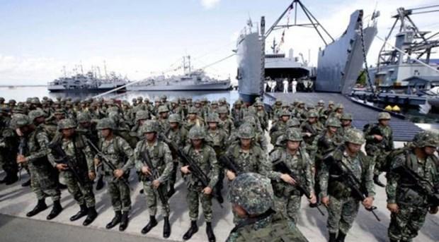 Filipinas y Australia realizan ejercicios maritimos conjuntos en Palawan hinh anh 1