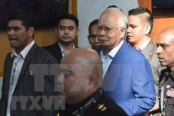 Expremier malasio Najib Razak retira demanda contra funcionarios que investigan malversacion de fondo 1MDB hinh anh 1