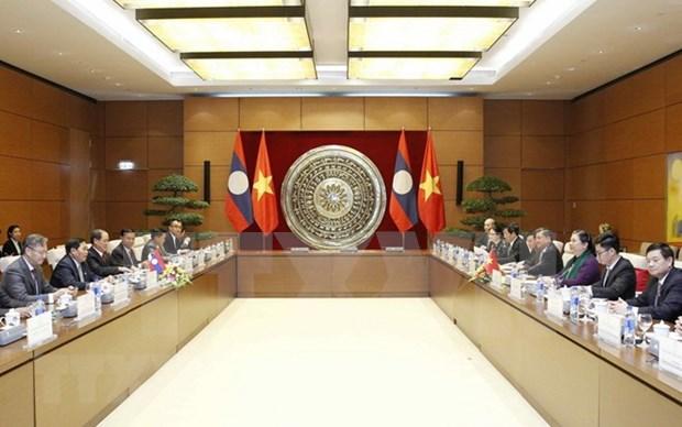 Parlamento vietnamita reitera apoyo a Laos en arena internacional hinh anh 1