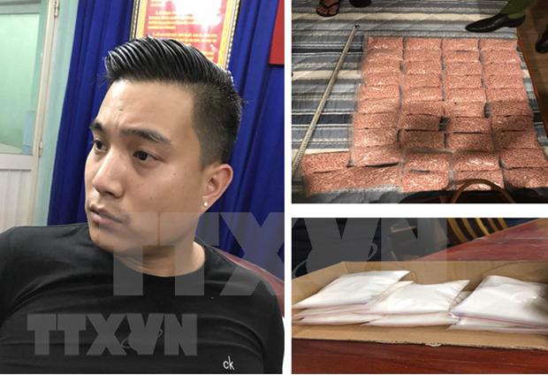 Vietnam desmantela red de produccion de pastillas de droga sintetica hinh anh 1