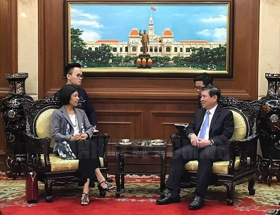 Ciudad vietnamita aspira a cooperar con Canada en banca y urbes inteligentes hinh anh 1