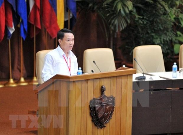 Cuba y Fidel son palabras sagradas en corazon de cada vietnamita, afirma dirigente partidista hinh anh 1