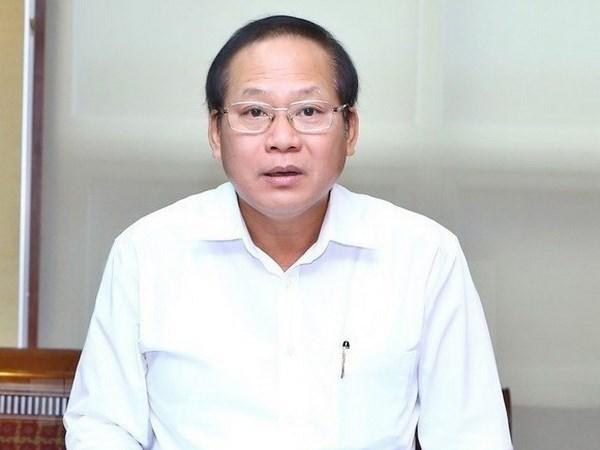 Ministro vietnamita recibe sancion disciplinaria por violaciones hinh anh 1