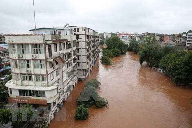 Vietnam expresa simpatia a China por afectaciones de inundaciones hinh anh 1