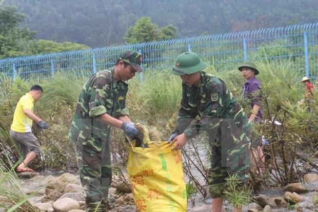 Vietnam y China coordinan proteccion ambiental a lo largo de rio fronterizo hinh anh 1