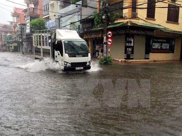Tormenta tropical Son Tinh afectara hoy a provincias costeras centrovietnamitas hinh anh 1