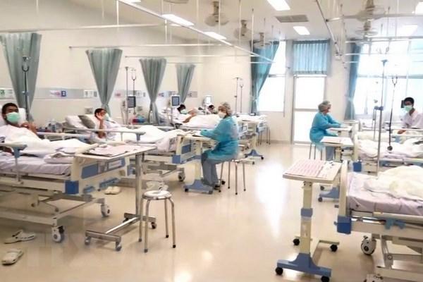 Ninos futbolistas de Tailandia ofreceran rueda de prensa antes de salir del hospital hinh anh 1