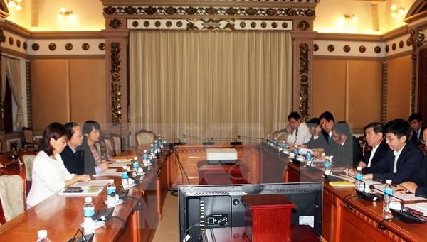 Ciudad Ho Chi Minh y agencia de cooperacion de Japon aceleran proyectos conjuntos hinh anh 1