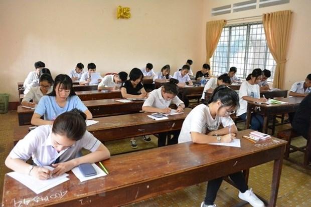 Inician procedimiento legal por irregularidades en examen de bachillerato en provincia vietnamita de Ha Giang hinh anh 1