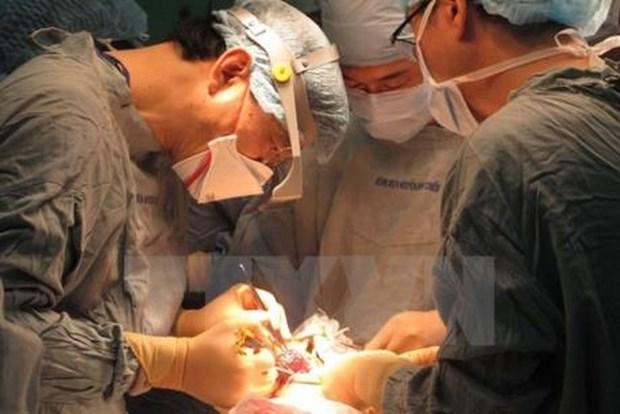 Realizan operaciones quirurgicas gratuitas para ninos con defectos faciales en Vietnam hinh anh 1