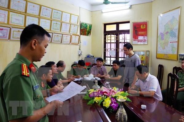 Detienen a funcionario vietnamita por irregularidades en examen de bachillerato hinh anh 1