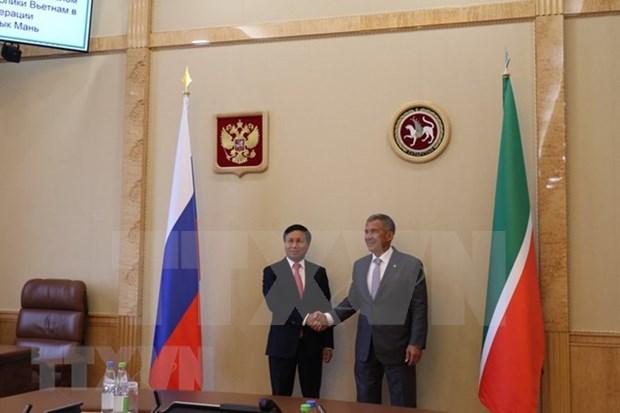 Tartaristan reafirma compromiso de favorecer inversiones vietnamitas en su territorio hinh anh 1