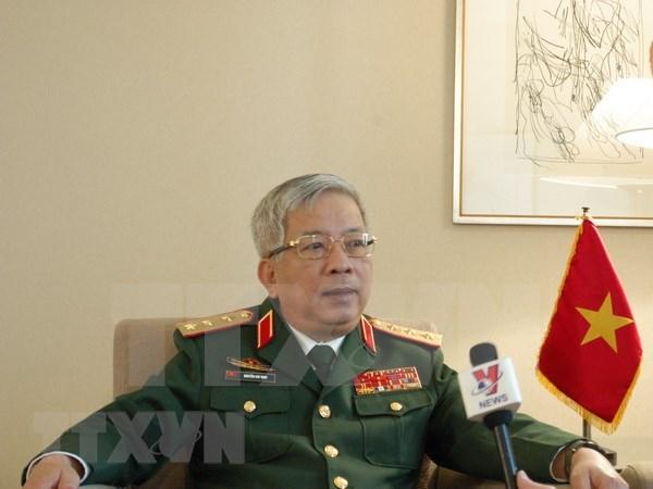 Vietnam considera importante cooperacion en defensa con Tailandia hinh anh 1