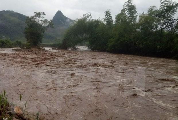 Reportan dos fallecidos por inundaciones en provincia vietnamita de Thanh Hoa hinh anh 1