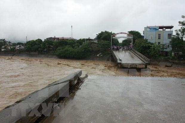 Inundaciones dejan tres fallecidos en provincia norvietnamita de Yen Bai hinh anh 1