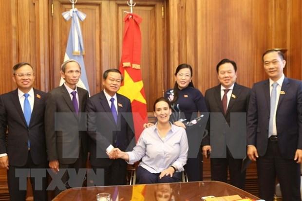 Vietnam y Argentina fomentan nexos parlamentarios hinh anh 1