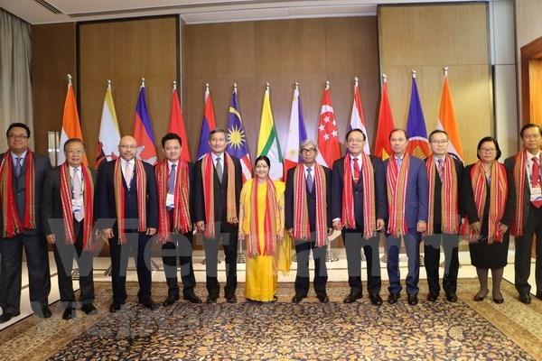 Trasiego comercial India-ASEAN podria llegar a 100 mil millones de dolares hinh anh 1